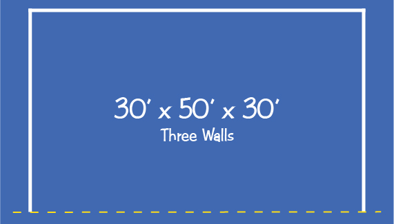 30 x 50 x 30