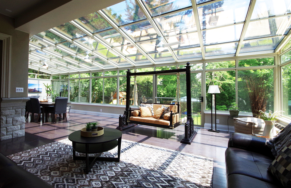 How To Keep Your Sunroom Temperature Comfortable Year