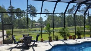 myrtle beach pool enclosure ideas
